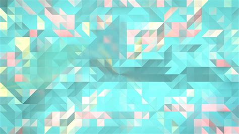 Triangle Pattern In Linux | wallpaper illustration text symmetry green blue