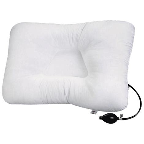 air adjustable cervical support pillow cervical support pillows