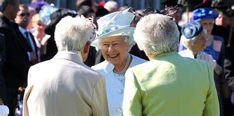 members of the royal family greeting a member of the royal family the royal family