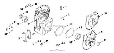 kohler parts diagram kohler 241 engine parts diagram kohler k301s engine parts