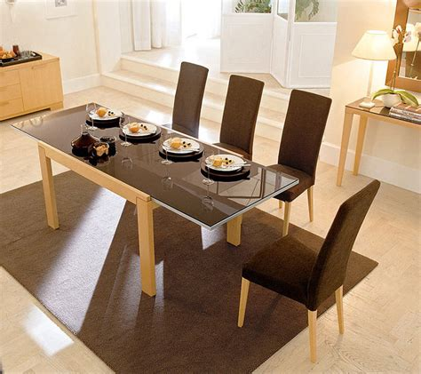 extending dining room tables best fresh extendable glass top dining room tables 18065