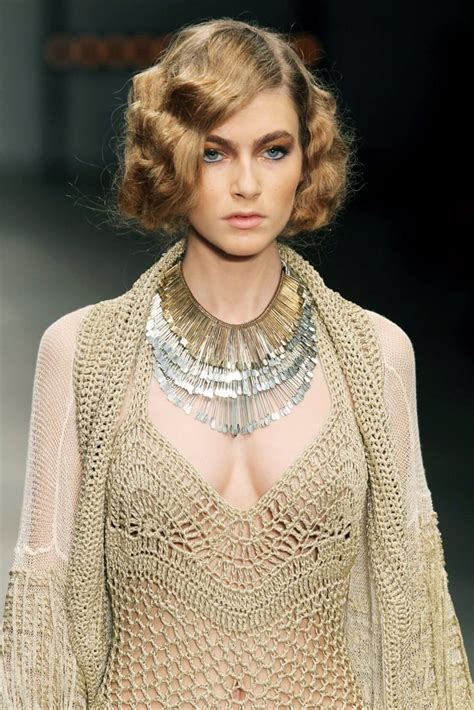 the glamorous 30s inspired bobs created for mark fast s