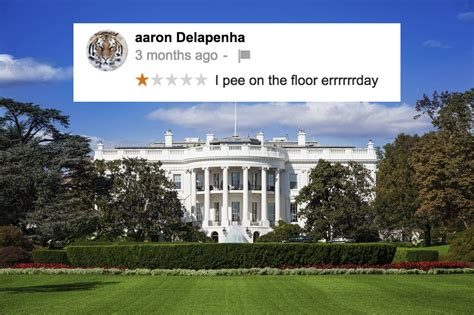 what a trumpified white house would look like viatechnik 10 really weird internet reviews of the white house