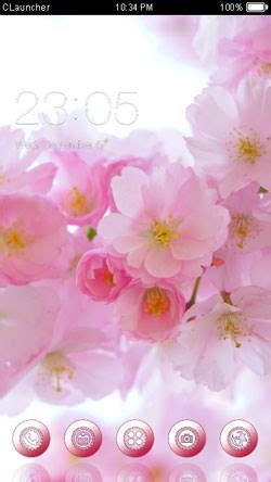 pink theme download for mobile download free pink flowers clauncher android mobile phone