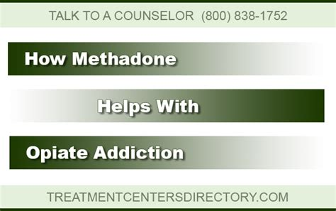 How Methadone Detox by How Methadone Helps With Opiate Addiction