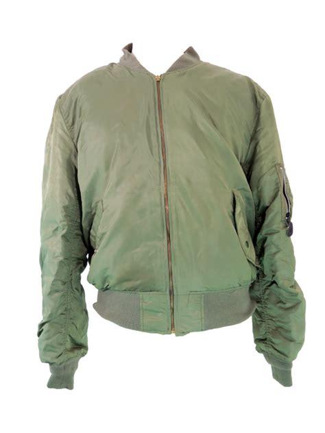 Jaket Bomber Bgsr Green Army vintage green bomber jacket 5 vintage