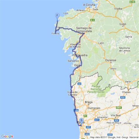 camino portuguã s lisbon porto santiago central and coastal routes books portugal camino coastal camino portugu 233 s caminho