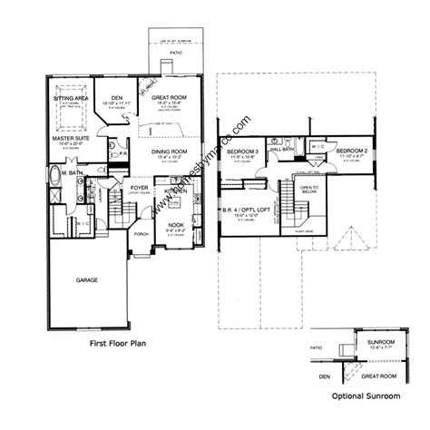 homes by marco floor plans manchester model in the southmoor subdivision in orland