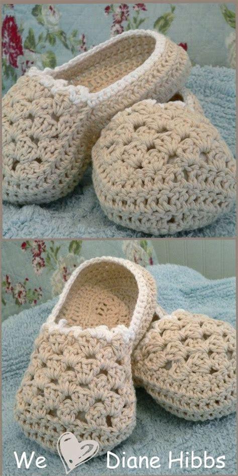 slipper yarn free crochet slipper pattern crochet slippers