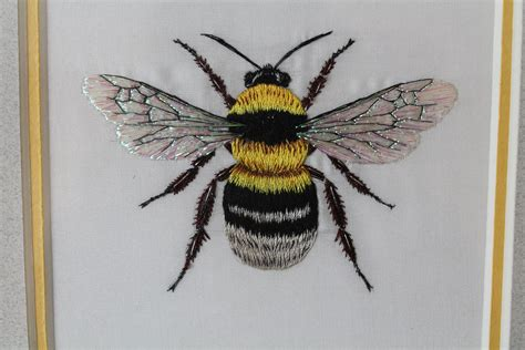 embroidery bee bumble bee bees bee embroidery embroidery embroidery