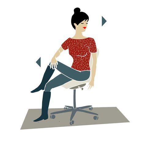esercizi alla scrivania 1000 images about fitness ed esercizi illustrati on