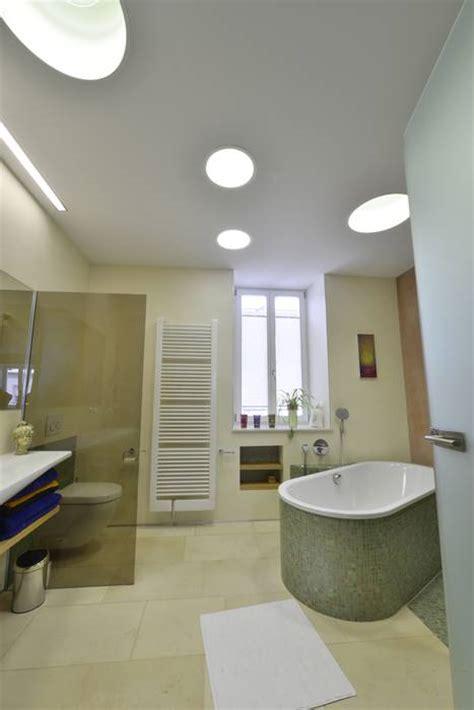 einfaches badezimmer umgestalten traumb 228 der mit spanndecken