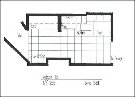 mud room sketch upfloor plan mudroom makeover the design plan