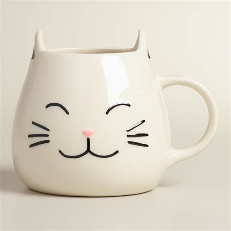 Cat Mug 1 cat mug set of 2 from cost plus world market