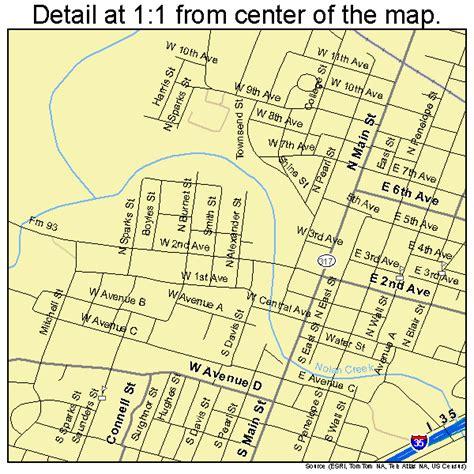 belton texas map belton texas map 4807492