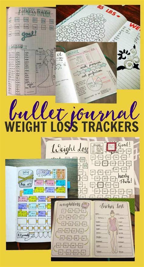 weight loss journal ideas bullet journal weight loss tracker ideas