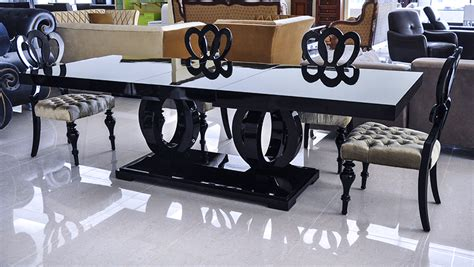 Modern Dining Table   Black Dining Table   Camila