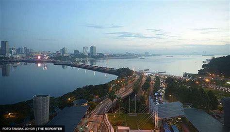 Malaysia A Johor Hitam Singapura A sultan johor tidak setuju reka bentuk jambatan rts minta singapura dan malaysia kaji semula