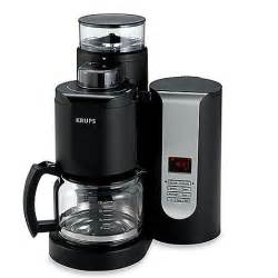 Filter Coffee Grinder Krups 174 Duo Filter 10 Cup Pro Grinder Brewer Coffee Maker