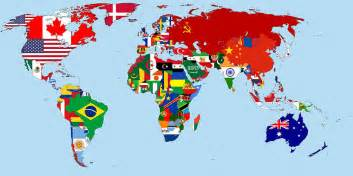 A Map Of The World Movie by Flag Map Of The World 1965 Drawing By Movie Poster Prints