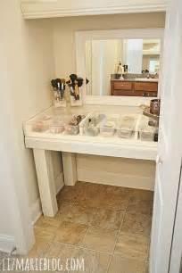 diy glass top makeup vanity desk vanities glasses and