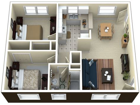 2 Bedroom Apartment by 2 Bedroom Apartment