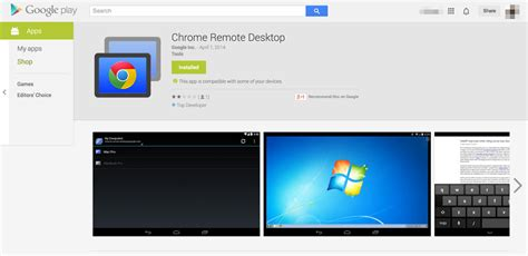 android remote desktop chrome remote desktop per android la nostra prova androidworld