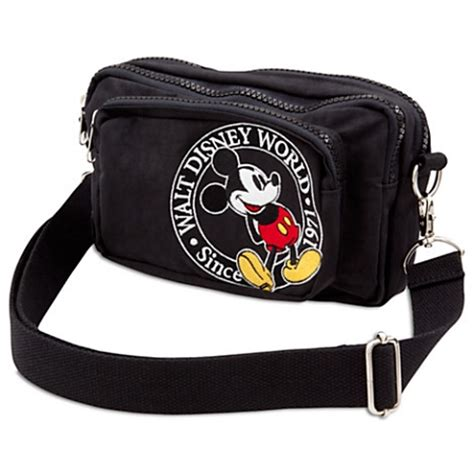 disney waist pack bag mickey mouse walt disney world logo