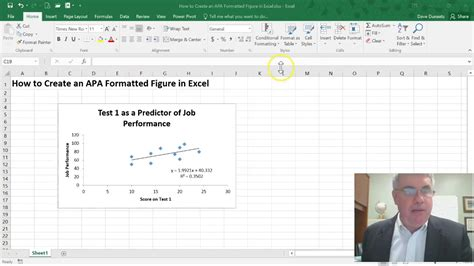 apa format youtube mac how to create an apa style figure in excel 2016 windows