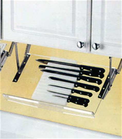 Counter Knife Rack by Cabinet Knife Rack In Kitchen Utensil Holders