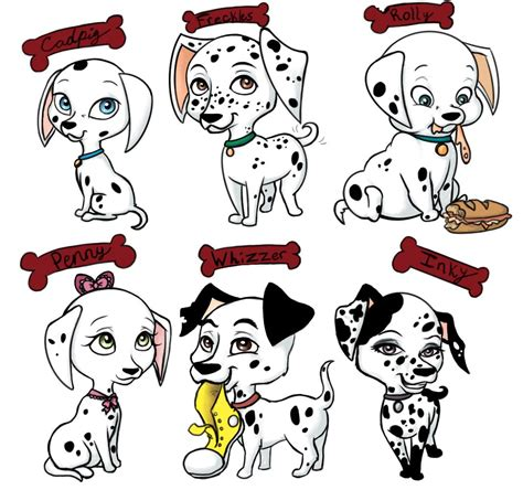 dalmatian puppy names 101 dalmatian characters names www pixshark images galleries with a bite