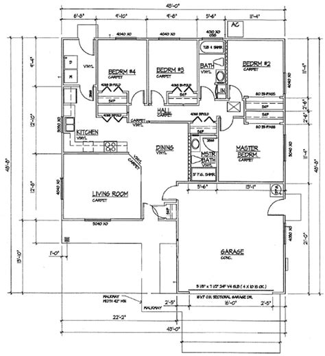 Single Story Farmhouse Plans see floor plans 3 4 5 bedroom open floor house plans