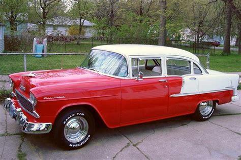 1955 Chevy Belair 4 Door by 1955 Chevrolet Bel Air 4 Door Sedan