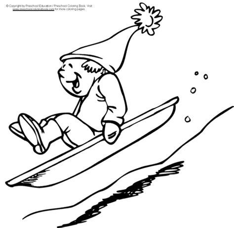www preschoolcoloringbook com winter coloring page