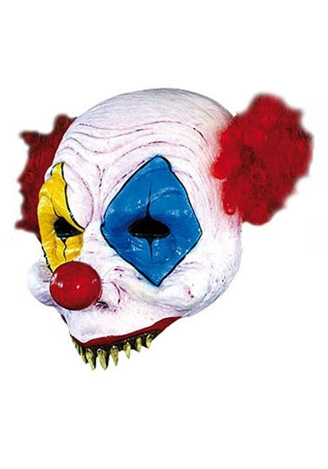 How To Make A Clown Mask Out Of Paper - half scary clown mask scary clown masks