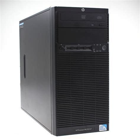 Server Hp Ml110 hp proliant ml110 g7 server 1x e3 1220 10 gb b110i 4 fach lff backplane ebay