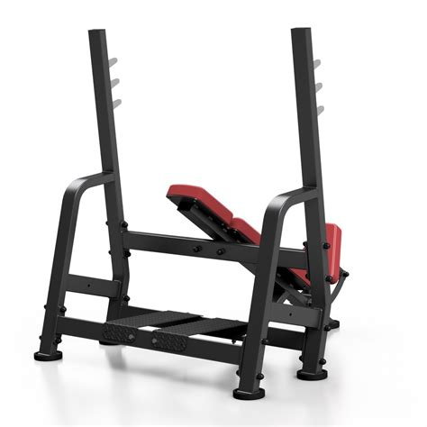 bench presser sp l207 olympic incline bench press