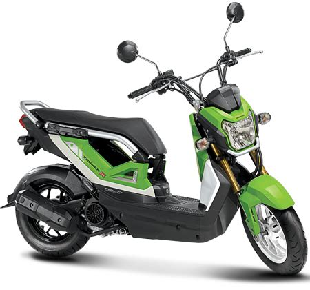HONDA ZOOMER X REVIEW AND SPECS   Motorider 88
