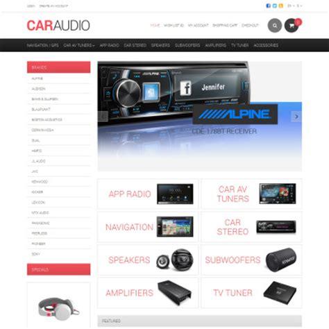 Car Audio Templates Templatemonster Sonus Car Audio Templates