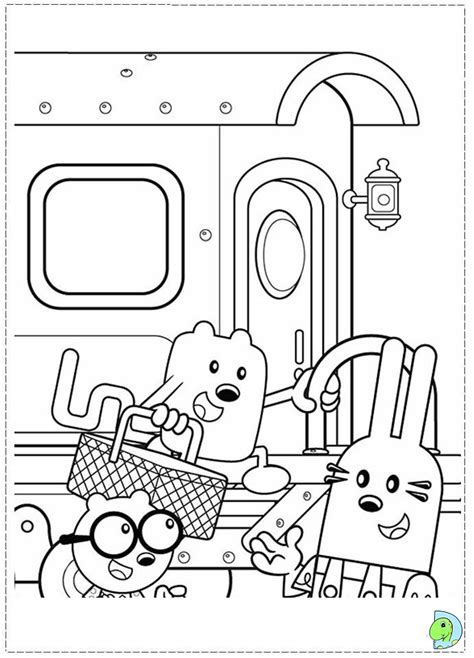 wubbzy free coloring pages on art coloring pages wow