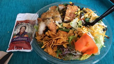 Grilled Chicken Salad Mcdonalds Vs Wendys by Mcdonalds Southwest Grilled Chicken Salad Review
