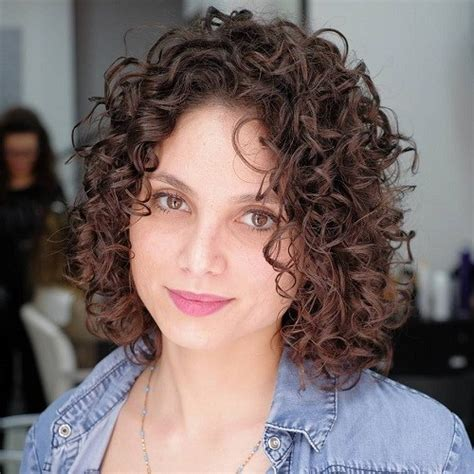 Short Haircuts For Naturally Curly Hair 2014