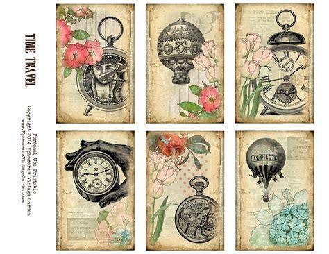 7 best images of free printable steampunk vintage free