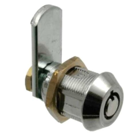 lowe fletcher 4111 19mm tambour cylinder cabinet lock easylocks tubular key cam lock