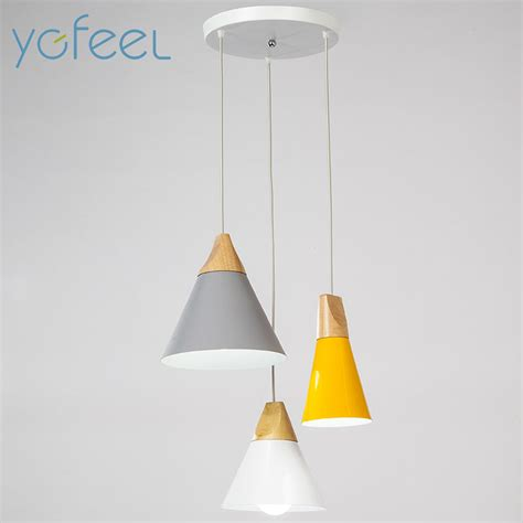Pendant Light Ceiling Plate Ygfeel Modern Dining Room Pendant Light 3 Heads Rectangle Ceiling Plate Indoor Living