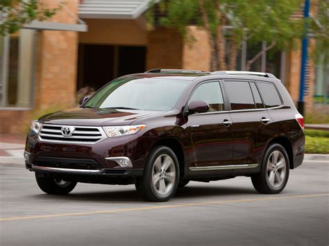 2012 Toyota Highlander 2012 Toyota Highlander Price Photos Reviews Features