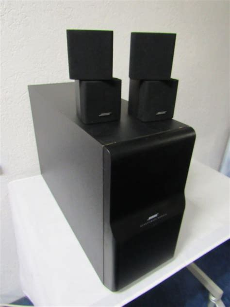 bose acoustimass 10 series ii home theater speaker set
