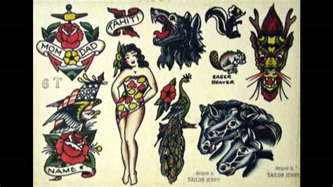 vintage tattoos and flash youtube