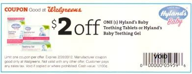 Teether Book Promo free hyland s teething gel at walgreens