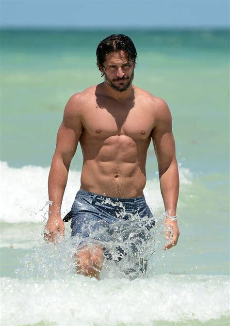 joe manganiello people joe manganiello shirtless in south beach celebrities